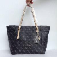Tas guess delaney medium tote bag handbag shoulder bag sling bag