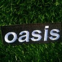 Bordir BAND OASIS / Patch BAND OASIS
