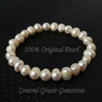 Jual Gelang Mutiara Asli Berkilau, Natural Perhiasan Terlaris Origin Pearl Murah