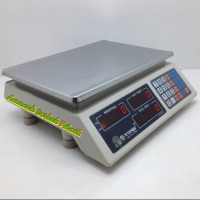 Timbangan Digital Buah/Supermarket Tora 30kg Dual Display