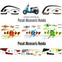 harga Stiker Sticker Striping Stripe List Body Original New Honda Scoopy Esp Tokopedia.com