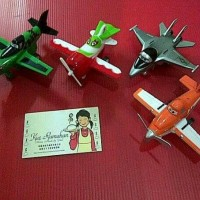 Topper Planes isi 4pcs