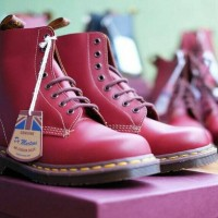 Dr martens 1460 vintage oxblood, made in england