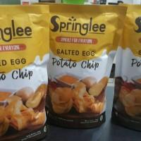 Jual springlee salted egg potato chip Murah