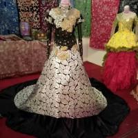gaun pengantin super mewah semi kebaya