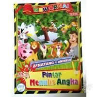 Buku Mewarnai Anak Binatang Animals