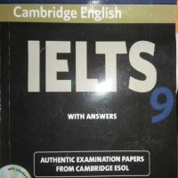Cambridge English IELTS 9 With Answers TANPA CD Authentic Examination