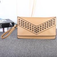 tas dompet bisa selempang mini sling bag coklat khaki cewek wanita hnm