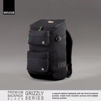 Jual Rayleigh Grizzly Hitam Free Raincover Tas Carrier Ransel Hiking Gunung Murah