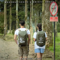 Jual Rayleigh Grizzly Olive Free Raincover Tas Carrier Ransel Hiking Gunung Murah