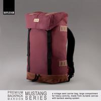 Jual Rayleigh Mustang Marun Free Raincover Carrier Tas Gunung Daypack Murah Murah