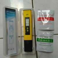 Digital pH Meter 0.01 Auto Calibrate - Kuning + Bubuk Kalibrasi