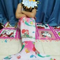 Jual Baju Renang Mermaid atau Kostum Putri Duyung Motif Frozen Murah