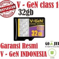 Jual Micro SD V-Gen 32GB Original Class 10 Garansi Resmi V-Gen  Murah