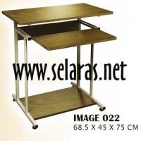 Meja Komputer Orbitrend Image 022 Brown DIY