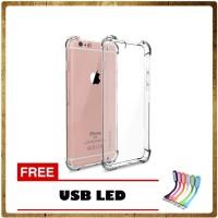 Case Anti Crack / Anti Shock for Iphone 5 / 5S / 5G - Free USB LED