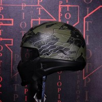 SCORPION EXO COMBAT RATNIK GREEN MATTE(NOT SHARK RAW ARAI SHOEI AGV)