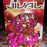 PROMO Coklat Turkey Jival Isi Crispy 500gr