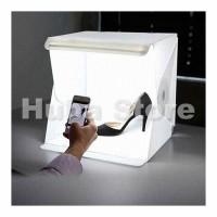 Mini Photo Studio Box Folding Kotak Tempat Foto Portable with LED