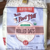 Bob's Red Mill Organic Gluten Free Quick Cooking Rolled Oats 907g