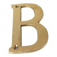 Harga 4 huruf alamat rumah ruko kantor gedung kuningan brass alphabet | antitipu.com