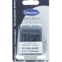 Baterai Kamera Panasonic I-Discovery ST-CGA-S005E