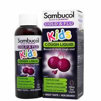 ORIGINAL Sambucol Kids Cold & Flu Obat Batuk Anak 120ml
