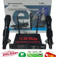 Jual Mic Wireless SENNHEISER 100 G6 BLACK Microphone Wireless Microphone Murah