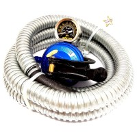 Regulator Kompor Gas LPG Starcam SC-23MSS dengan Selang