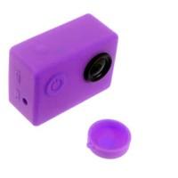 Brica B-PRO Alpha Edition (AE2s) Silicone Case & Lens Cap - Ungu