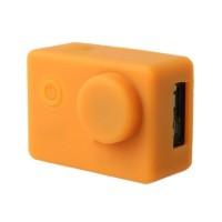 Brica B-PRO Alpha Edition (AE) Silicone Case & Lens Cap - Orange
