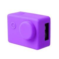 Brica B-PRO Alpha Edition (AE) Silicone Case & Lens Cap - Ungu