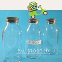 Jual BOTOL KACA ASI 100 ml/ Botol Asi Asip / Botol Vial Murah