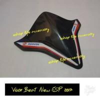 visor honda beat new esp 2017 / windshield aksesoris depan headlamp
