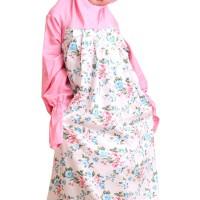 Jual Zahranaa Mukena Sarimbit Kids Aya Arinda 01 - Cream Pink Murah