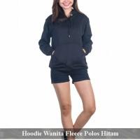 Pusat Jaket Online - Jaket Fleece Murah - sweater wanita fleece hitam