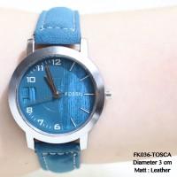 Jam tangan fashion wanita fossil kulit fashion cewek guess/aigner/dkny