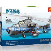 Bricks Wange WZ10 Gunship JX002