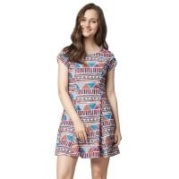 Minimal Wichita Fit Dress Fuschia Combo (mnm0712-40067230033)