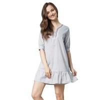 Minimal Fara Embro Dress Blue (mnm0712-40067110045)