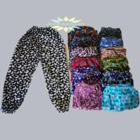 Celana Panjang Anak Perempuan 5-8 THN | Aladin Anak | Santai Motif