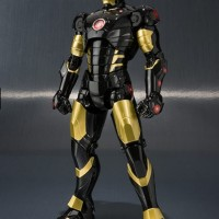 Jual Bandai SHF S.H.Figuarts Iron Man Mark 3 Black Gold MARVEL AGE OF HERO Murah