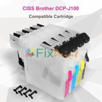 Cartridge CISS Brother DCP-J100 J105 MFC J200 LC109 LC103 Pendek