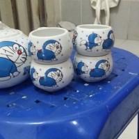 Jual Teko Set Doraemon Murah
