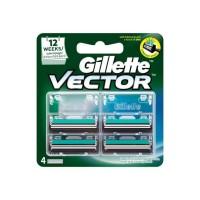 Gillette Vector Plus Refill 4'S