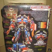 Action Figure Optimus Prime Leader Black Version Transformers ROTF