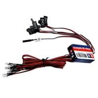 12 LED Simulation Lights Smart System Flash Lighting for RC 1/10 Car N