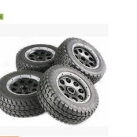 baja 5T off-road wheel tyre set 85044 fit hpi rovan km 1/5 rc car