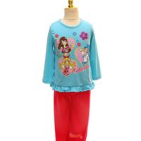 Baju tidur anak / piyama anak PJA 020717 Aikatsu Blue