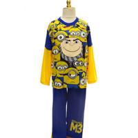 Baju Tidur Anak / Piyama Anak Pja 030717 Minion Yellow